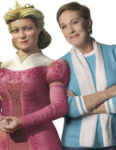 Julie Andrews as Queen Lillian in Shrek the Third